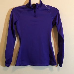 Under Armour  Long Sleeve Purple  Pullover…
